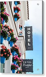 Typical Andalusian Hotel Acrylic Print