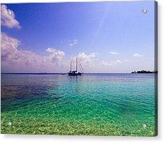Typical Caribbean Acrylic Print