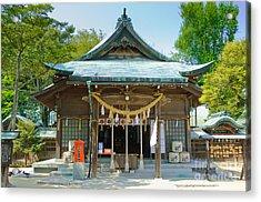 Typical Japanese Shinto Shrine Entrance Acrylic Print