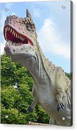 Tyrannosaurus Rex (t. Rex) Acrylic Print by Photostock-israel