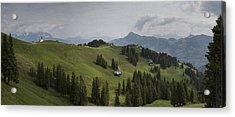 Tyrolean Panorama Acrylic Print by Nigel Jones