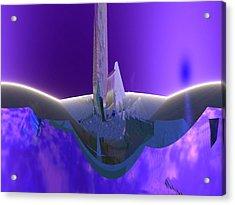 U-blu-2 Acrylic Print