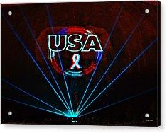 U S A Acrylic Print