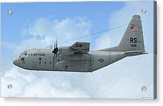 U. S. Air Force C-130 Hercules Acrylic Print