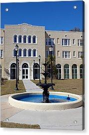U S M Gulf Coast Hardy Hall Acrylic Print