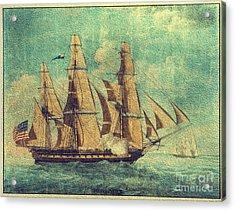 U S S Constitution 1803-1804 Acrylic Print