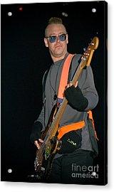 U2-adam-gp24 Acrylic Print by Timothy Bischoff