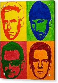 U2 Acrylic Print by Doran Connell