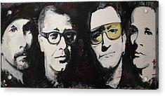 U2 Force Acrylic Print by John Barth