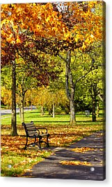 Ua In The Fall 2013 Acrylic Print