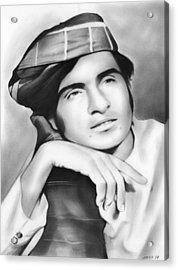 Ubaidullah Jan Kandahari Acrylic Print