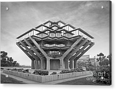 University Of California San Diego Geisel Library  Acrylic Print by University Icons