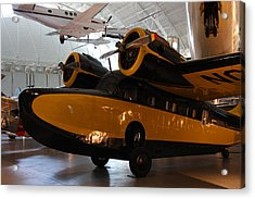 Udvar-hazy Center - Smithsonian National Air And Space Museum Annex - 1212100 Acrylic Print by DC Photographer