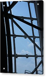 Udvar-hazy Center - Smithsonian National Air And Space Museum Annex - 1212103 Acrylic Print by DC Photographer