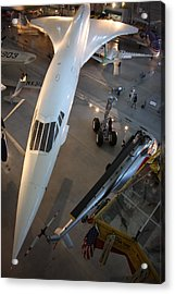 Udvar-hazy Center - Smithsonian National Air And Space Museum Annex - 1212105 Acrylic Print by DC Photographer