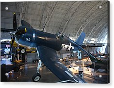 Udvar-hazy Center - Smithsonian National Air And Space Museum Annex - 12122 Acrylic Print by DC Photographer
