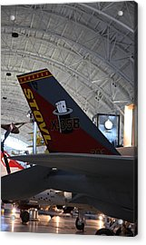 Udvar-hazy Center - Smithsonian National Air And Space Museum Annex - 121222 Acrylic Print by DC Photographer