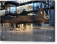 Udvar-hazy Center - Smithsonian National Air And Space Museum Annex - 121229 Acrylic Print