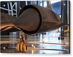 Udvar-hazy Center - Smithsonian National Air And Space Museum Annex - 121230 Acrylic Print by DC Photographer