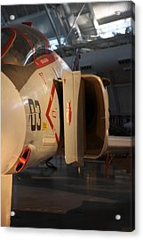 Udvar-hazy Center - Smithsonian National Air And Space Museum Annex - 121232 Acrylic Print by DC Photographer