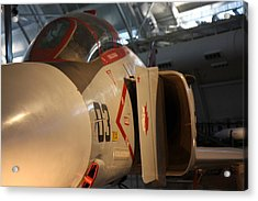 Udvar-hazy Center - Smithsonian National Air And Space Museum Annex - 121233 Acrylic Print by DC Photographer