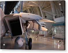 Udvar-hazy Center - Smithsonian National Air And Space Museum Annex - 121239 Acrylic Print by DC Photographer