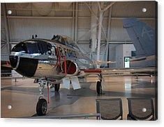 Udvar-hazy Center - Smithsonian National Air And Space Museum Annex - 121242 Acrylic Print