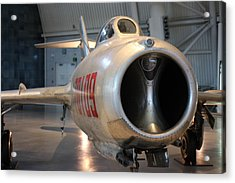 Udvar-hazy Center - Smithsonian National Air And Space Museum Annex - 121243 Acrylic Print by DC Photographer