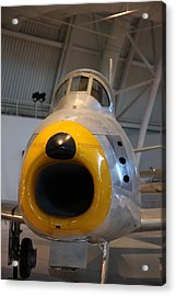 Udvar-hazy Center - Smithsonian National Air And Space Museum Annex - 121244 Acrylic Print by DC Photographer