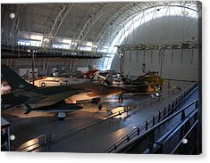 Udvar-hazy Center - Smithsonian National Air And Space Museum Annex - 12125 Acrylic Print by DC Photographer