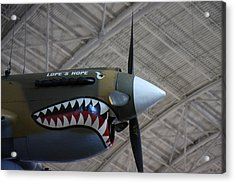 Udvar-hazy Center - Smithsonian National Air And Space Museum Annex - 121253 Acrylic Print
