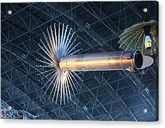 Udvar-hazy Center - Smithsonian National Air And Space Museum Annex - 121262 Acrylic Print by DC Photographer