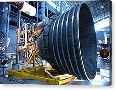 Udvar-hazy Center - Smithsonian National Air And Space Museum Annex - 121268 Acrylic Print