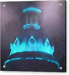 Ufo Dome Acrylic Print by Blue Sky