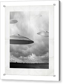 Ufo Sighting Acrylic Print