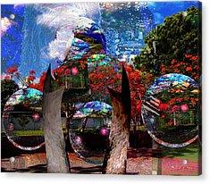 Ufo Technology  Acrylic Print by Miguel Conesa Osuna