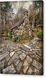 Ugly Cottage Acrylic Print by Adrian Evans