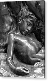 Ugolin Detail From Orsay Museum Acrylic Print
