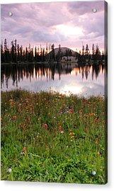 Uinta Wildflowers Acrylic Print