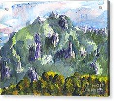 Uintah Highlands 1 Acrylic Print