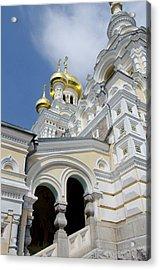 Ukraine, Yalta Exterior Of Saint Acrylic Print by Cindy Miller Hopkins
