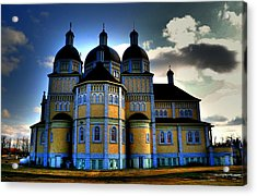 Ukrainian Catholic Church Of The Immaculate Conception Acrylic Print by Larry Trupp