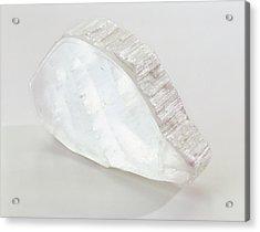 Ulexite In Crystalline Slab Acrylic Print
