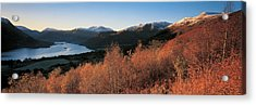 Ullswater Lake District England Acrylic Print by Panoramic Images