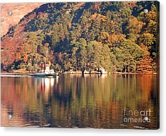 Ullswater Steamer Acrylic Print by Linsey Williams