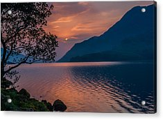 Ullswater Sunrise Lake District Acrylic Print by David Ross