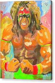 Ultimate Warrior Acrylic Print by John Morris