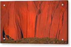 Uluru 2 Acrylic Print by Evelyn Tambour