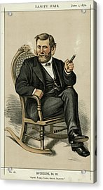 Ulysses Grant American Civil War Acrylic Print by Mary Evans Picture Library