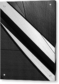 Umbrella Abstract Acrylic Print by Connie Fox